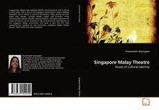 Bookcover of Singapore Malay Theatre