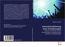 Portada del libro de Internationalisierung eines Eventkonzepts