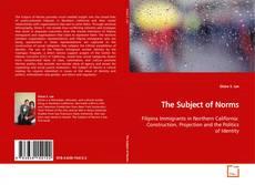The Subject of Norms kitap kapağı