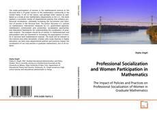 Professional Socialization and Women Participation in Mathematics kitap kapağı