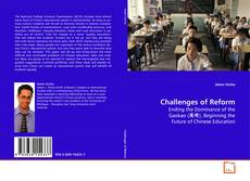 Bookcover of Challenges of Reform