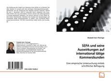 Buchcover von SEPA und seine Auswirkungen auf international tätige Kommerzkunden