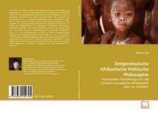 Zeitgenössische Afrikanische Politische Philosophie kitap kapağı