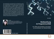 Capa do livro de Werbewirkung im Programmumfeld