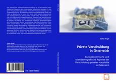 Buchcover von Private Verschuldung in Österreich