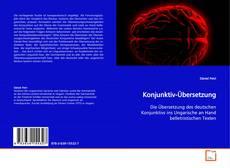 Buchcover von Konjunktiv-Übersetzung