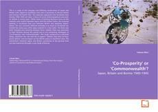 Copertina di 'Co-Prosperity' or 'Commonwealth'?