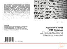 Bookcover of Algorithmus eines HMM-Compilers