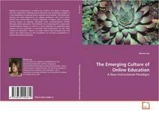 Capa do livro de The Emerging Culture of Online Education