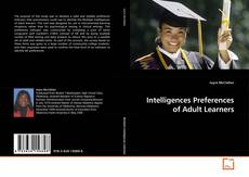 Copertina di Intelligences Preferences of Adult Learners