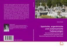 Bookcover of Spanische, argentinische und costaricanische Todesanzeigen