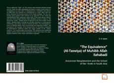 "Buchcover von ""The Equivalence"" (Al-Taswiya) of Muhibb Allah Ilahabadi"