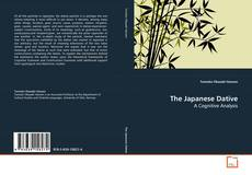 Buchcover von The Japanese Dative