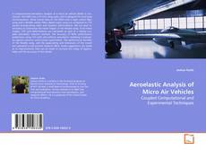 Capa do livro de Aeroelastic Analysis of Micro Air Vehicles