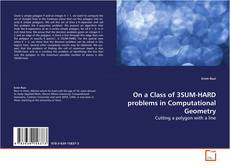 Bookcover of On a Class of 3SUM-HARD problems in Computational Geometry