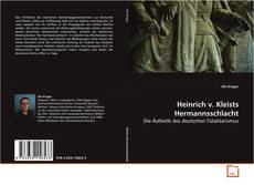 Обложка Heinrich v. Kleists Hermannsschlacht