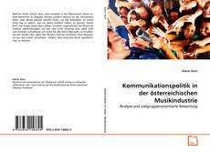 Portada del libro de Kommunikationspolitik in der österreichischen Musikindustrie