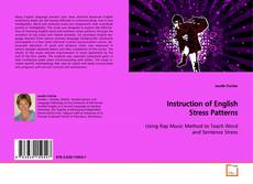 Bookcover of Instruction of English Stress Patterns