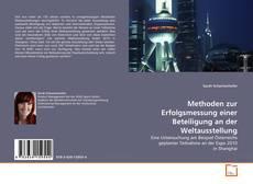 Copertina di Methoden zur Erfolgsmessung einer Beteiligung an der Weltausstellung