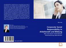 Bookcover of Corporate Social Responsibility in Arbeitswelt und Bildung