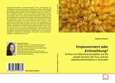 Empowerment oder Entmachtung? kitap kapağı