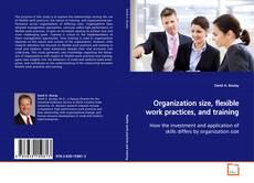 Buchcover von Organization size, flexible work practices, and training