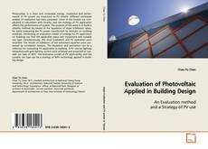 Buchcover von Evaluation of Photovoltaic Applied in Building Design