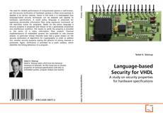 Language-based Security for VHDL kitap kapağı