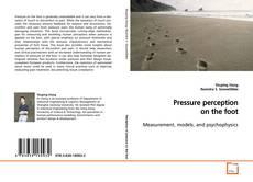 Copertina di Pressure perception on the foot