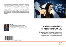 Capa do livro de Academic Remediation for Adolescents with EBD