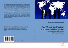 Capa do livro de NAFTA and the Mexican Products Liability System