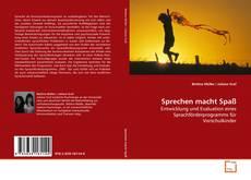 Bookcover of Sprechen macht Spaß