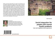Bookcover of Social integration for people with mental health problems