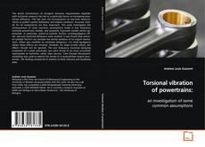 Capa do livro de Torsional vibration of powertrains: