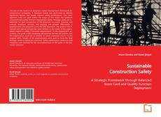 Bookcover of Sustainable Construction Safety