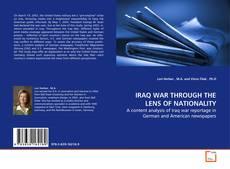 Portada del libro de IRAQ WAR THROUGH THE LENS OF NATIONALITY