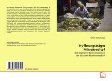 Bookcover of Hoffnungsträger Mikrokredite?