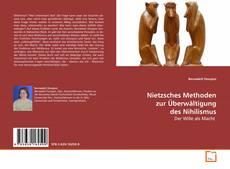 Bookcover of Nietzsches Methoden zur Überwältigung des Nihilismus