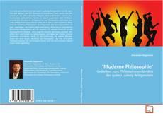 "Bookcover of ""Moderne Philosophie"""