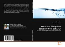 Prediction of Aqueous Solubility from SCRATCH的封面