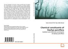 Bookcover of Chemical constituents of Stachys parviflora