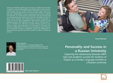 Bookcover of Personality and Success in a Russian University