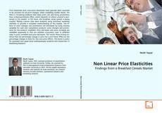 Bookcover of Non Linear Price Elasticities