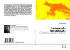 Buchcover von Strategien der Identitätssuche