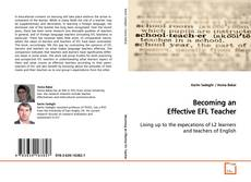 Bookcover of Becoming an Effective EFL Teacher