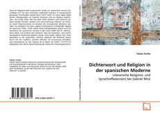 Buchcover von Dichterwort und Religion in der spanischen Moderne