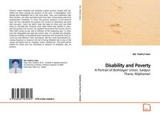 Buchcover von Disability and Poverty