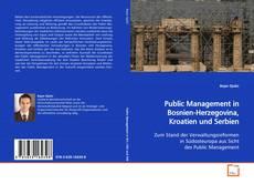Bookcover of Public Management in Bosnien-Herzegovina, Kroatien und Serbien