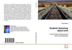 Bookcover of Students' Reasoning about Limit