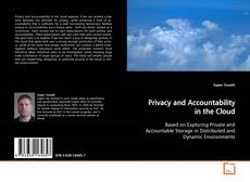 Privacy and Accountability in the Cloud的封面